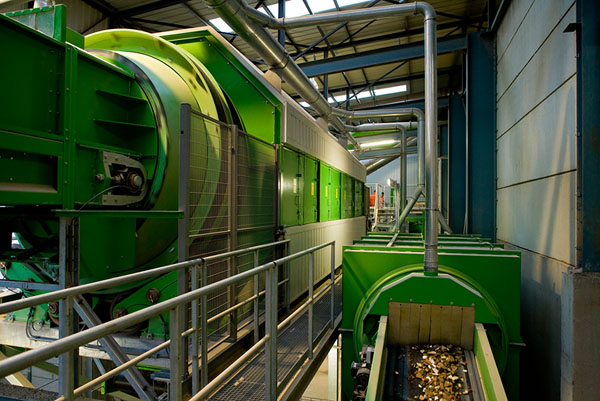 SORTING PLANT TIENEN (BE) > <span class=