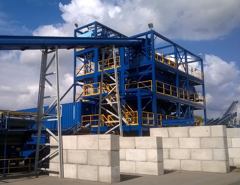 PURIFICATION PLANT FOR SAND AND GRAVEL > 									<span class=